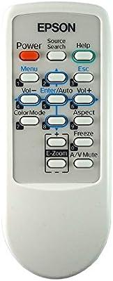 Mando a distancia original para proyector Epson 145664100.: Amazon ...