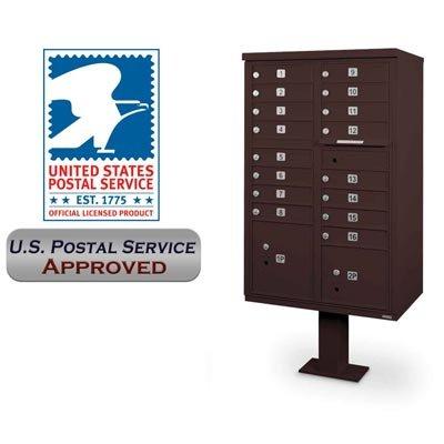 postalproducts-n1031043-16-door-cbu-with-pedestal-62-height-305-width-bronze-pack-of-2