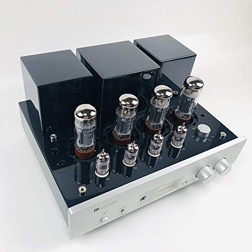 MUZISHARE - X5 Stereo Integrated Amplifier EL34 x4 Tube AMP Push-Pull with Remote Upgrade ()