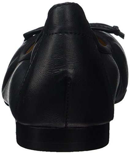 Caprice Nappa Bailarinas Black Negro Mujer para 22102 RRBqZwp
