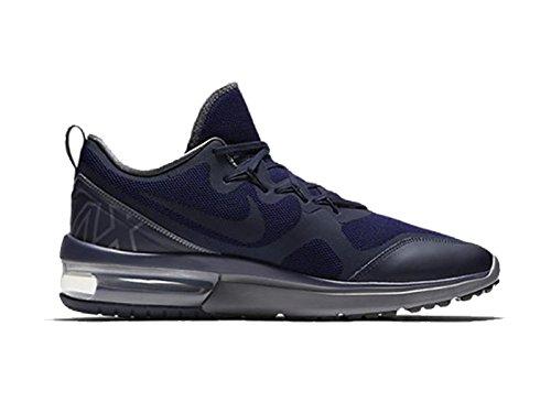 Nike NIKE AIR MAX Fury–Chaussures Sportives, homme, bleu–(Obsidian/Dark grey-deep Royal Blue)