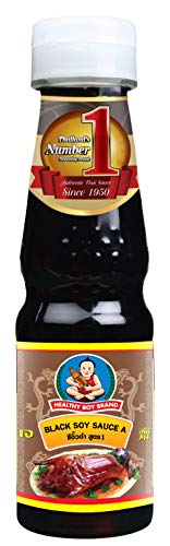 Thai Soy Sauce - Healthy Boy Thai Black Soy Sauce, 6.7 Ounces, Product of Thailand (Pack of 1)