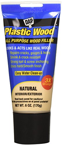 Natural Wood Series Natural - DAP 581 Series 00581 6oz Natural Latex Plastic Wood, 6 Oz,