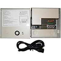 EVERTECH (PB04-03P) 4 Channel 3 Ampere PTC FUSE CCTV DVR Security Camera Metal Power Supply Box