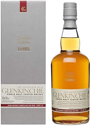 Glenkinchie Distiller's Edition 2019 Whisky Escocés Puro de Malta de las Tierras Bajas de Escocia - 700 ml