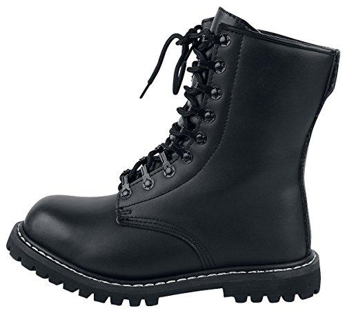 Brandit Mens Combat Boots mit Futter Negro