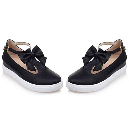 Mode Semelle Qiusa Chaussures Épaisse À La Féminine wpXZp