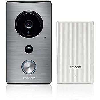 Zmodo Greet Wi-Fi Video Doorbell with Beam Smart Home Hub and Wi-Fi Extender - Cloud Service Available