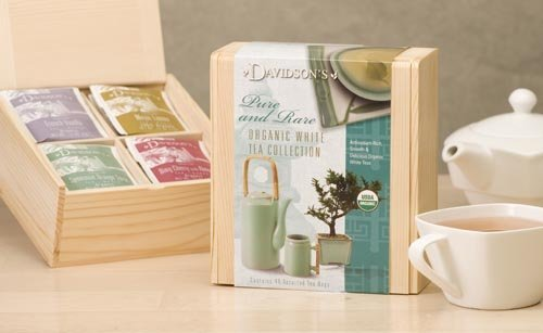 Davidson Organic Tea 628 Collection Chest White Tea