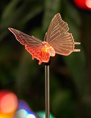 Butterfly Solar Powered Garden Lights - 9