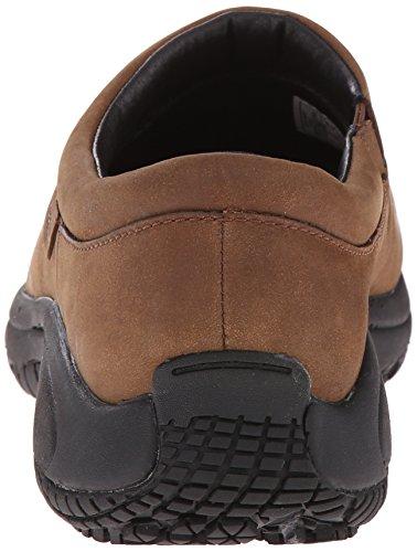 Merrell Encore Pro Grip Moc Nubuck antideslizante zapato de trabajo Brown