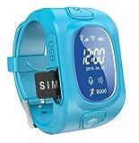 IVS 300S Smart KIDS GPS Tracker Watch (Aqua Blue)