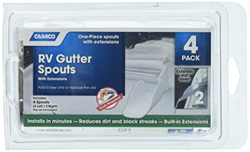 RV Gutter Spouts With Extensions