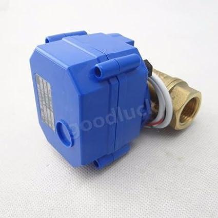 HuoPu Válvula de bola motorizada de válvula eléctrica DN20 G3/4