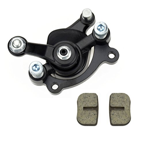 Replaced Part - Rear Disc Brake Caliper Replaced Pad For Motovox MBX10 MBX11 Mini Dirt Bike MM-B80-BR 80CC 2.5HP Moto Classic Mini Bike 47cc 49cc Pocket Bike Stand Up Goped Scooter