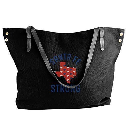 (Women Tote Bag Santa Fe Strong Canvas Shoulder Handbags)