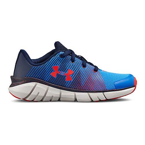 Under Armour Boys' Pre School X Level Scramjet Sneaker, Blue Circuit (402)/Elemental, 1
