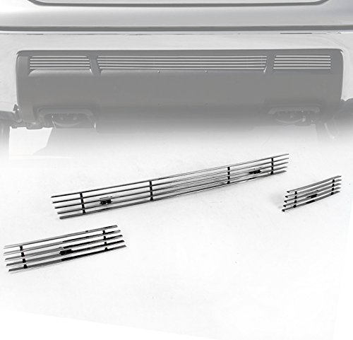 ZMAUTOPARTS Toyota Tundra Front Bumper Lower Billet Grille Grill Insert 3Pcs Set
