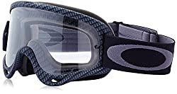 Oakley O-frame Graphic Frame Mx Goggles (True Carbon Fiberclear Lens, One Size)