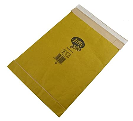 Jiffy Padded Bag Envelopes No.0 Brown 135x229mm Ref JPB-0 Pack of 200