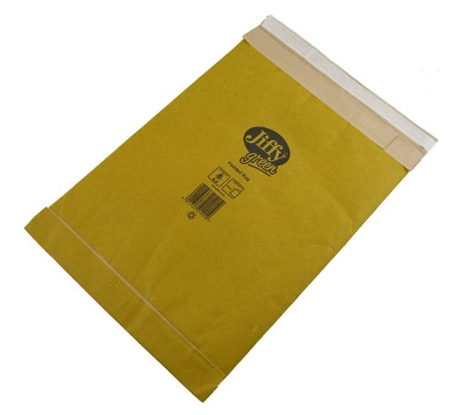 Jiffy Padded Bag for DVD Box of 100 - Size 3, 195 x 343mm