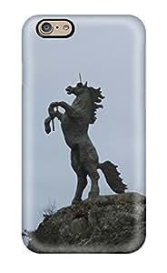 Diycase Cute Appearance Cover/tpu Unicorn Horse Magical Animal case cover For uQ3PULKba8N Iphone 6