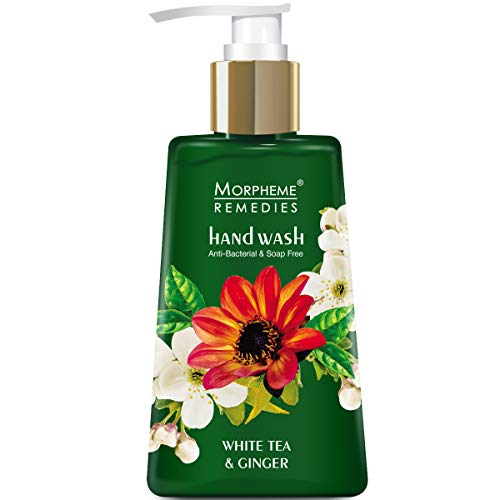 - Morpheme Remedies Hand Wash White Tea & Ginger, Anti Bacterial, 250ml - Soap Free Handwash