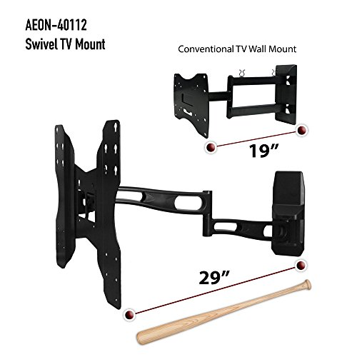 Aeon Stands And Mounts Full Motion Wall Mount With 29 Inch