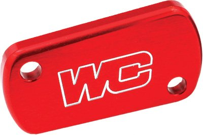 Works Connection Rear Master Cylinder Cover - Red 21-705