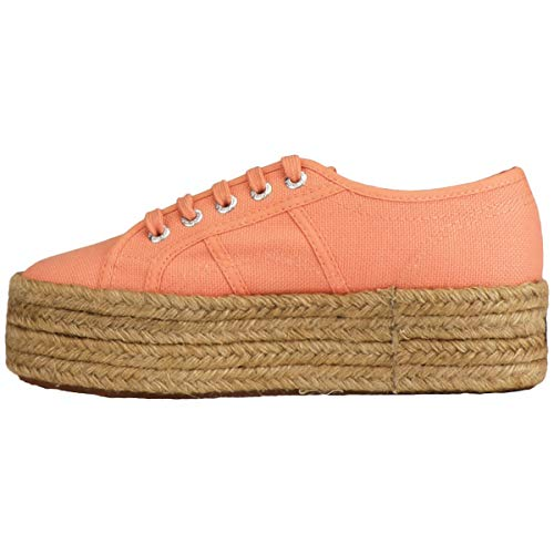 peach 2790 cotropew Rosa Zapatillas Superga Coral Lt Mujer J74 Para gAxAqw