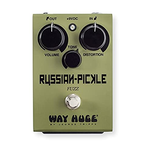 Way Huge WHE408 Russian Pickle Fuzz Guitar Effects Pedal (Bass Pedal Fuzz)