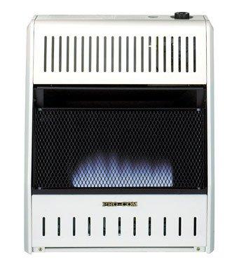ProCom Blue Flame Wall Heater - 20,000 BTU Output, 700 Sq. Ft. Heating Capacity, Model# MD200TBA