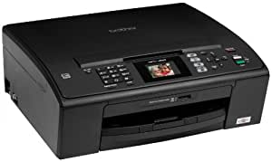 Brother Black Compact Inkjet All-in-One with Fax for the Small or Home Office User (MFCJ220)