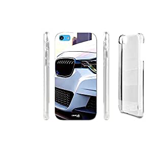 FUNDA CARCASA AUTO SUV BIANCO PARA IPHONE 5C