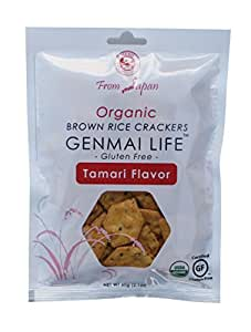 Muso From Japan Genmai Life, Organic Brown Rice Crackers