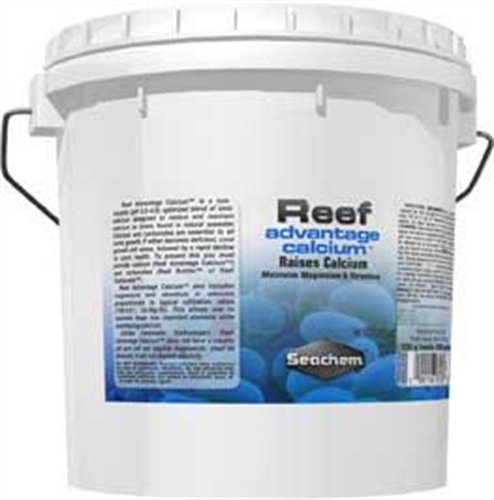 Reef Advantage Calcium, 4 kg / 8.8 - Magnesium Reef Seachem Advantage