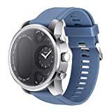Axiba Smart Watch Fitness Activity Heart Rate Tracker Waterproof, Smart Watch Fitness Activity Heart Rate Blood Pressure Tracker Waterproof (Blue)