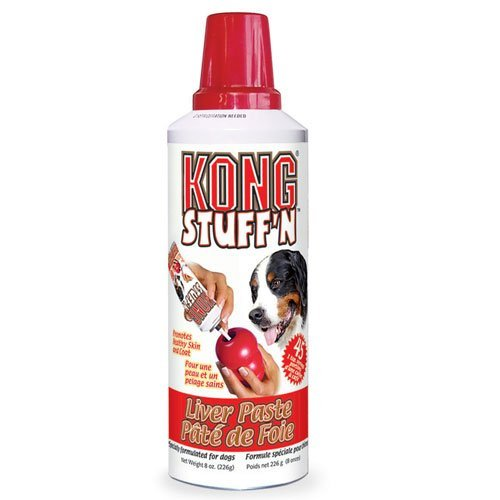 KONG STUFF'N EASY TREAT PASTE For KONG Dog & Puppy Toys LIVER 8 oz (XS1) 3 PACK