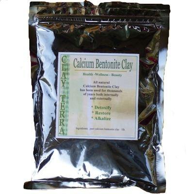 Clay Terra - Calcium Bentonite Clay 1 lb. food grade Montmorillonite green clay