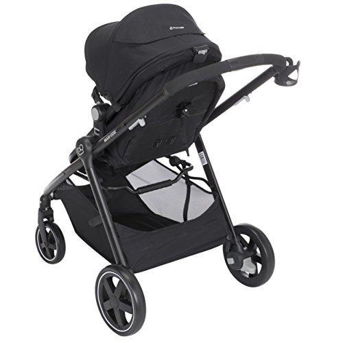 Maxi-Cosi Zelia 5-in-1 Modular Travel System Stroller and Mico 30 Infant Car Seat Set (Night Black) by Maxi-Cosi (Image #10)
