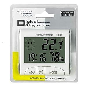 Mini Digital Weather Thermometer Hygrometer Humidity Meter Home Room Temperature Meter Indoor LCD Display Tools