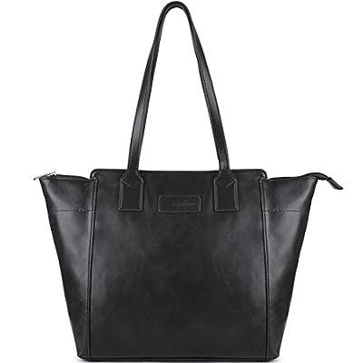 Purses and Handbags, Ladies Handbags, ZMSnow Vegan Leather Lightweight Shoulder Bag for Women