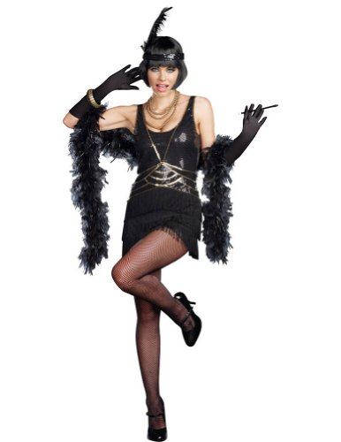 [Dreamgirl Women's Aint Misbehavin Costume, Black, Small] (Women Turkey Costume)