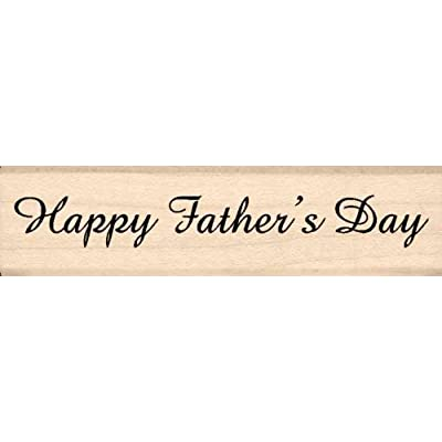 Stamps by Impression Happy Fathers Day Rubber Stamp: Arts, Crafts & Sewing