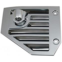 OC Parts Hummer H2 Chrome Side Vents - Fits The 2004, 2005, 2006, 2007, 2008, 2009, 2010 Hummer H2 and SUT