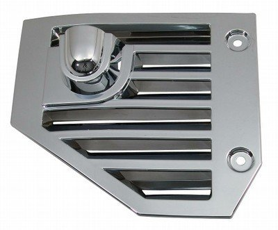 OC Parts Hummer H2 Chrome Side Vents - Fits The 2004, 2005, 2006, 2007, 2008, 2009, 2010 Hummer H2 and SUT ()