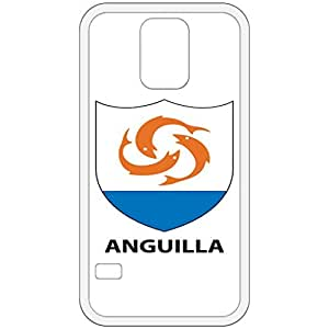 Anguilla - Coat Of Arms Flag Emblem White Samsung Galaxy S5 Cell Phone Case - Cover
