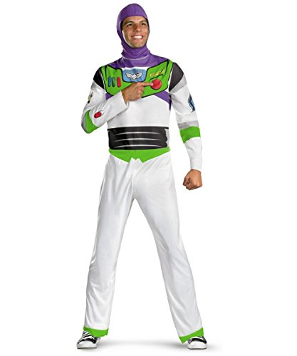 Buzz Light Year Mens Disney Plus size (50-52) Costume by Disguise