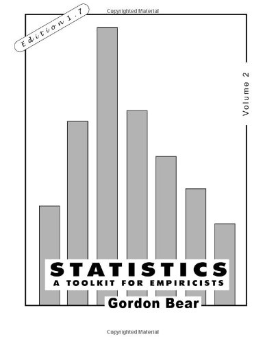 Statistics, Volume 2: A Toolkit for Empiricists