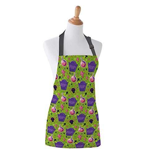 Family Decor Adjustable Bib Apron, Waterdrop Resistant Cooking